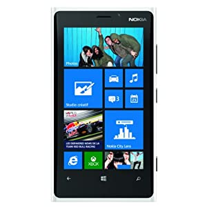 Nokia Lumia 920 RM-820 32GB AT&T Unlocked GSM 4G LTE Windows 8 OS Smartphone - White