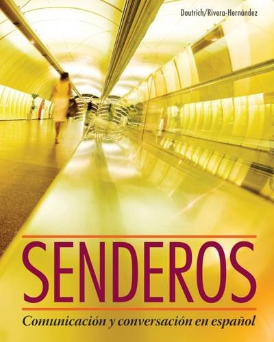 senderos-communicacion-y-conversacion-en-espanol-with-ilrn-advance-printed-access-card-world-languag