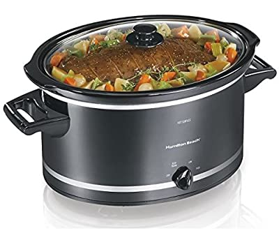 Hamilton Beach Best 8 Quart Slow Cooker Oval Slow Cookers Easy To Manage Cooking Time from Hamilton Beach