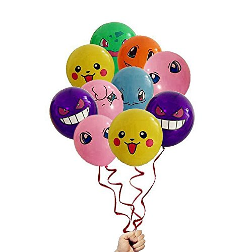 21-Count-Pokemon-Latex-Balloons-12-Inches-Birthday-Party