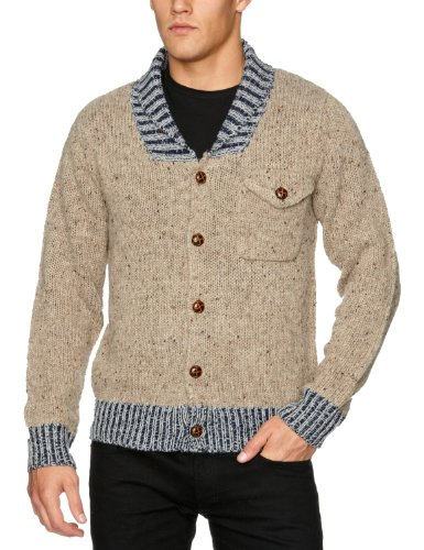St Jude  Ford Men's Jumper Stone Large