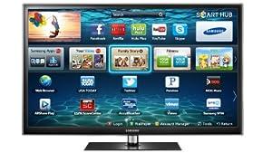 Samsung PN64E550 64-Inch 1080p 600Hz 3D Slim Plasma HDTV (Black)