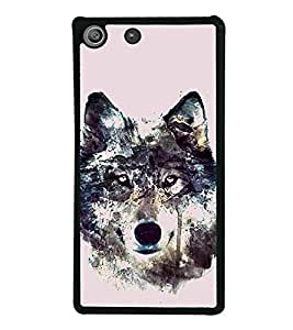 Fox 2D Hard Polycarbonate Designer Back Case Cover for Sony Xperia M5 Dual :: Sony Xperia M5 E5633 E5643 E5663
