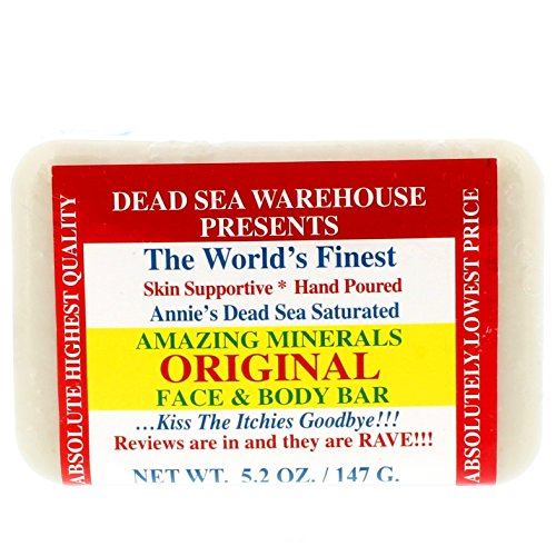 Dead Sea Amazing Minerals Famous Salt Soap THE BIG BAR - 5.2 oz