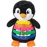 "BUCKLE TOY ""Blizzard"" Penguin - Toddler Early Learning Basic Life Skills Children's Plush Travel Activity"