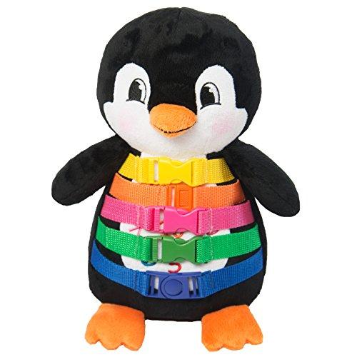 "BUCKLE TOY ""Blizzard"" Penguin - Toddler Early Learning Basic Life Skills Children"