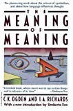 img - for Meaning Of Meaning by Ogden, C. K., Richards, I. A.(June 26, 1989) Paperback book / textbook / text book