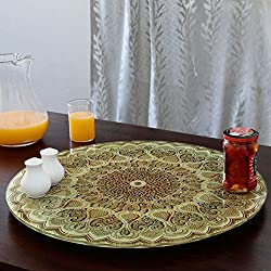 JVS Printed Toughened Lazy Susan 21 (Classic)