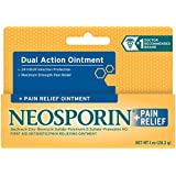 Neosporin First Aid Antibiotic Ointment Maximum Strength Pain Relief, 1-Ounce