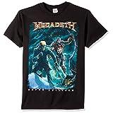 FEA Men's Megadeth Vic Canister T-Shirt, Black, X-Large