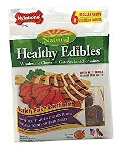 Healthy Edibles - Regular 6 Pack - Roast Beef & Chicken Flavor