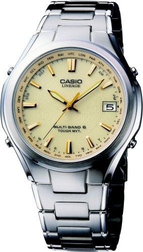 CASIO (カシオ) 腕時計 LINEAGE リニエージ TOUGH MVT ソーラー 電波時計 MULTIBAND6 LIW-T110D-9AJF メンズ