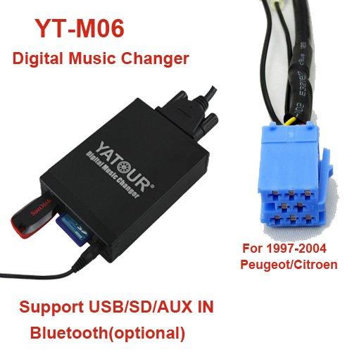 USB-SD-AUX-MP3-Adapter-fr-RD3-RM2-RB3-Radio-bei-den-folgenden-Modellen-Citroen-C3-C5-C8-Berlingo-Xsara-Picasso-Peugeot-106-206-307-406-407-407-SW-607-806-807