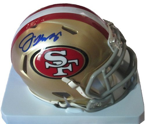 Jim Harbaugh Autographed / Signed San Francisco 49ers Riddell Mini Helmet w/ Proof Photo of Signing, Super Bowl XLVII, COA (Super Bowl Xlvii Football compare prices)