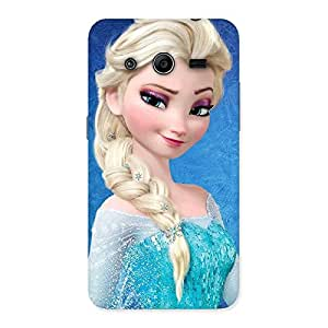 Princess Wink Back Case Cover for Galaxy Core 2