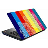 MeSleep Bright Paisley Multicolor Laptop Skin