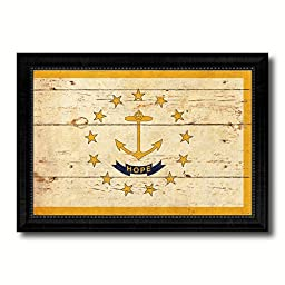Rhode Island State Vintage Flag Collection Western Interior Design Souvenir Gift Ideas Wall Art Home Decor Office Decoration - 23\