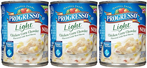 Progresso Light Soup - Chicken Corn - 18.5 oz - 3 pk (Progresso Chicken Corn Chowder compare prices)