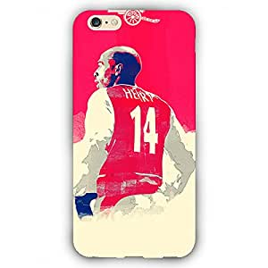 EYP Arsenal Therry Henry Back Cover Case for Apple iPhone 6