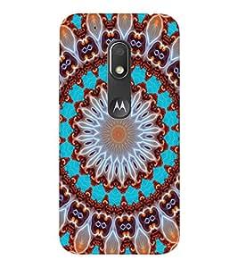 EPICCASE Chkravyuh Pattern Mobile Back Case Cover For Moto Play (Designer Case)