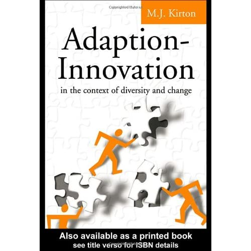 Adaption-Innovation: In the Context of Diversity and Change (repost)