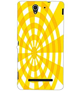 SONY XPERIA C3 ILLUSSION Back Cover by PRINTSWAG