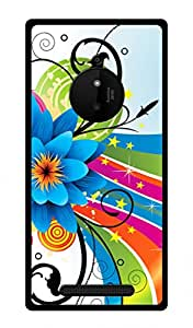 Nokia Lumia 830 Printed Back Cover