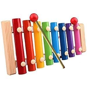 Susenstone TM Susenstone Baby Kid Musical Toys Xylophone Wisdom Development Wooden Instrument