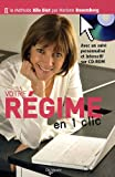 Votre rgime en un clic (1Cdrom)