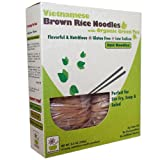 Star Anise Foods Vietnamese Brown Rice Noodles with Organic Green Tea -- 8.6 oz