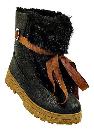 art.407/WINTERSTIEFEL DAMENSTIEFEL BOOTS STIEFEL WINTERSCHUHE SCHUHE NEU DAMEN, Schuhgröße:37