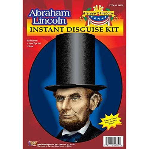 Abraham Lincoln Halloween Costume Kit