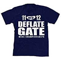 Deflate Gate Patriots Men's Unisex T-shirt Navy