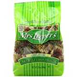 Mrs. Leeper's Pasta Organic, Rice Vegetable Twists, 12-Ounce Bags (Pack of 12) ~ Mrs. Leeper's