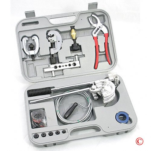 105 pc Plumbing Repair & Tool Kit With PVC Case