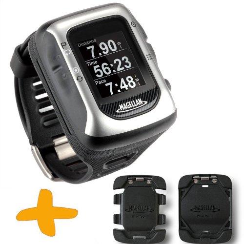 Magellan-Switch-UP-GPS-Sport-Uhr-w-Halterungen-Crossover-GPS-Uhr-fr-mehrere-Sportarten-Laufen-Joggen-Schwimmen-Radfahren-Wasserdicht-bis-50-Meter