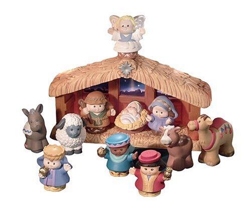 Mattel J4506 - Little People Weihnachtskrippe