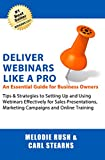 Deliver Webinars Like a Pro: An Essential Guide for Business Owners. Tips and Strategies to Setting Up and Using Webinars Effectively for Sales Presentations, Marketing Campaigns and Online Training