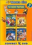 echange, troc Coffret Tes héros préférés 4 DVD : Les Looney Tunes passent à l'action / Scooby-Doo / Comme chiens et chats / Space Jam