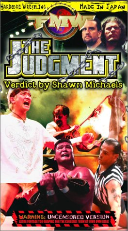 FMW (Frontier Martial Arts Wrestling) - The Judgment [VHS]