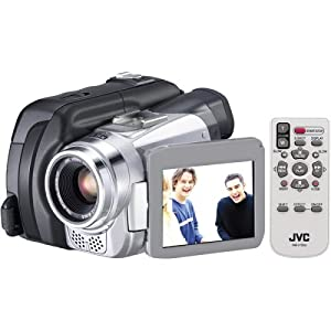 JVC GRDF430U MiniDV Camcorder w/15x Optical Zoom