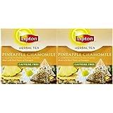 Lipton Herbal Tea Pyramids - Pineapple Chamomile - 18 ct - 2 pk