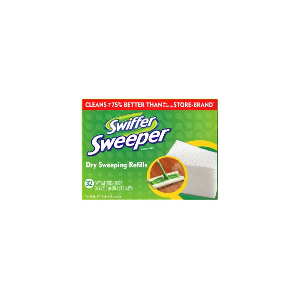 c3252766cd2 Swiffer Sweeper Dry Cloth Unscented Refill