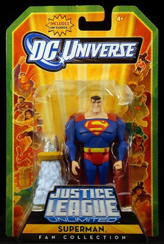 DC Universe Justice League Unlimited Fan Collection Action Figure Superman Includes Mini Kandor dc comics super heroes batman the joker superman wonder woman mini pvc action figure toys dolls models 22pcs set free shipping