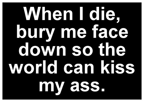 new-black-sticker-decal-when-i-die-bury-me-face-down-so-the-world-can-kiss-my-ass-funny