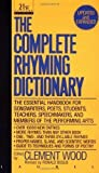 img - for The Complete Rhyming Dictionary: Including The Poet's Craft Book Revised Edition published by Dell Publishing (1992) book / textbook / text book