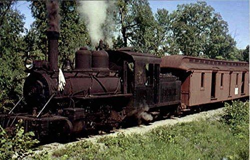 Bridgeton & Harrison'S Locomotive Number 8 Locomotives Original Vintage Postcard