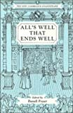 All's Well that Ends Well (The New Cambridge Shakespeare) (0521221501) by William Shakespeare