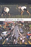 img - for Barriers to Riches book / textbook / text book