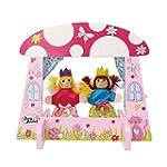 Mini Fairy Tale Kids Puppet Theatre w...